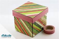 Kiste Selber Basteln - schachteln basteln einfache diy anleitung vorlagen
