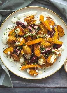 Ofengemüse Mit Kartoffeln - ofengem 252 se mit k 252 rbis rote bete kartoffeln und
