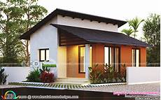 small kerala style house plans small low cost 2 bedroom home plan kerala home design