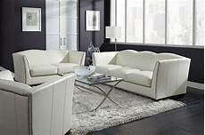 leather livingroom furniture manlyn white leather living room set from lazzaro wh 1327