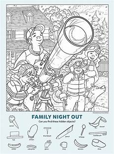 family out find the objects kids game activity kids answers
