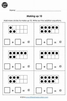 addition worksheets with pictures up to 10 9594 addition worksheets within 10 for kindergarten