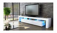 Meuble Tv Design Tv Laqu Blanc Kaisman Meuble Tv Design