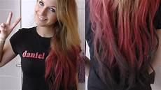 Ombre Glatte Haare - hair tutorial haarkreide ombre hair
