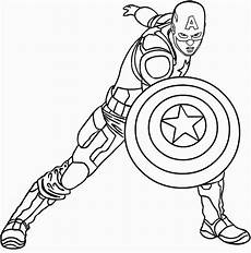 captan amerika superhelden malvorlagen zum drucken und