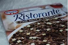Review Schoko Pizza Dr Oetker Kein Aprilscherz