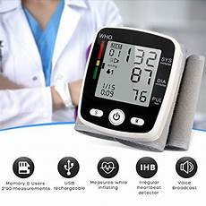do automatic blood pressure machines read high wrist blood pressure monitor with usb charging portable automatic digital bp machine 180