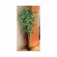 artificial ficus tree silk 7 ft indoor home decor natural green potted plant new ebay