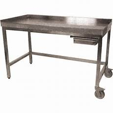 Table Inox De Poussage Professionnelle 1400 X 700 Mm