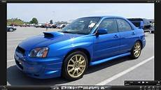 2004 Subaru Impreza Wrx Sti Start Up Exhaust And In