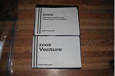 old car owners manuals 2005 chevrolet venture free book repair manuals 2005 chevrolet venture van owners manual ebay
