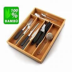 portaposate cassetto porta posate da cassetto accessori cucina in legno bambu