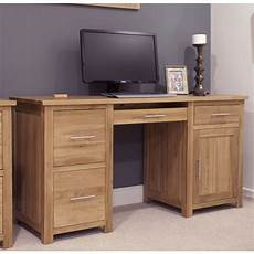 solid oak home office furniture opus solid oak furniture large office computer desk sale