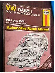 car manuals free online 1992 volkswagen golf windshield wipe control vw rabbit golf jetta manual 1975 1992 scirocco pick up repair guide book ebay