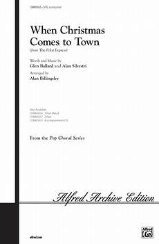 when christmas comes to town sheet music by glen ballard sheet music plus
