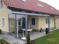 Terrassen Windschutz Glas - seitlicher windschutz mit 220 berdachung f 252 r terrasse