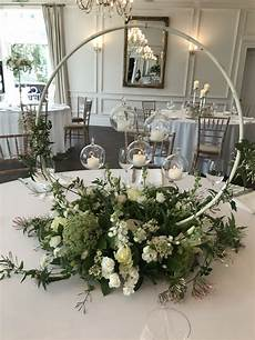 floral hoop table centre wedding table centerpieces