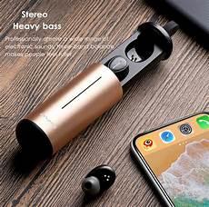 True Wireless Awei Portable Bluetooth Earphone by True Wireless Awei T5 Portable Tws Bluetooth 5 0