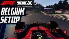 F1 2018 Belgium Spa Francorchs Setup