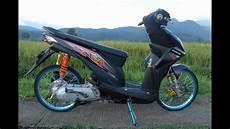 Stiker Motor Beat Keren by Modifikasi Motor Beat Keren Banget Motor Beat Di