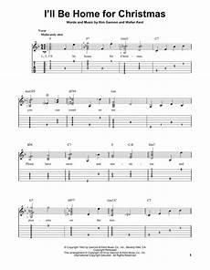 i ll be home for christmas sheet music by bing crosby easy guitar tab 156414