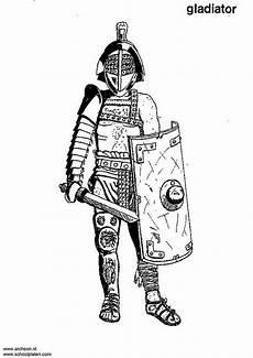 coloring page gladiator img 3207 kleurplaten gladiatoren