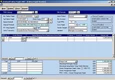 software program faktur pajak standar per 159 pj 2006