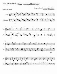 once upon a december sheet music for cello download