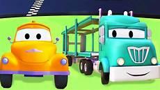 tom der abschleppwagen und der autotransporter lastwagen