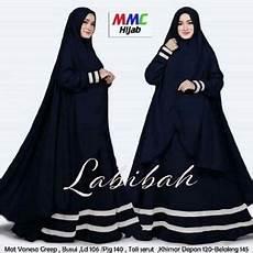 Baju Gamis Syari Busui Setelan Jilbab Bergo Modis Modern