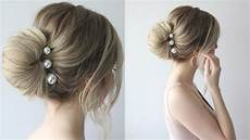 prom hair buns how to simple bun prom hairstyles 2018