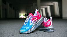 brilliant nike air max 720 white pink blue sneakers