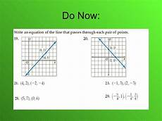 5 5 linear equations point slope form