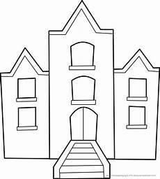 Malvorlage Haus Einfach Malvorlage Haus Einfach Kinder Ausmalbilder