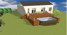 piscine sur terrain en pente r 233 sultat de recherche d images pour quot piscine