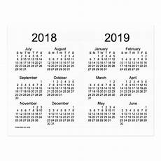 mini kalender 2018 2018 2019 school year mini calendar by janz postcard