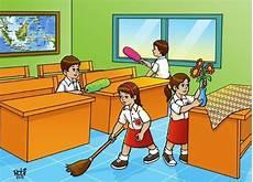 Gambar Lingkungan Sekolah Yang Bersih Dan Bagus