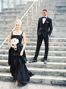20 beautiful and bold black wedding dresses chic vintage brides