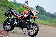 Modifikasi New Megapro Supermoto by Supermoto Pertamax7