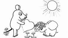 40 ausmalbild maus elefant besten bilder ausmalbilder