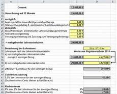 excel aufgaben zum lohnsteuerabzugsverfahren sonstige bez 252 ge