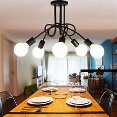 lustre salle a manger 5 heads diy modern pendant light ceiling l hanging
