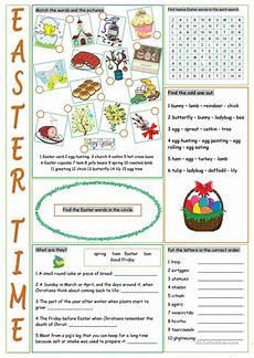 easter vocabulary exercises worksheet free esl printable worksheets made by teachers