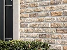 Natursteinwand Selber Machen - gestaltung wohnzimmer sandstein jade rustique ocre brun
