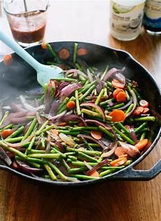 spring veggie stir fry good food channel delicious