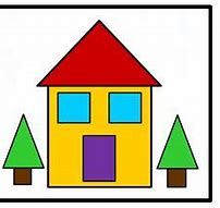 Image result for house from shapes