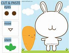 paper tearing and pasting worksheets 15710 bunny carrot cut and paste free worksheet paper and the pea toddler activities