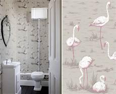 papier peint toilettes papier peint flamingo toilettes cole and interior