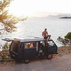 destination nature with vw bulli wohnwagen mieten