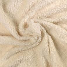 tissu peluche au metre fourrure coton bio agneau 233 crue a a patrons